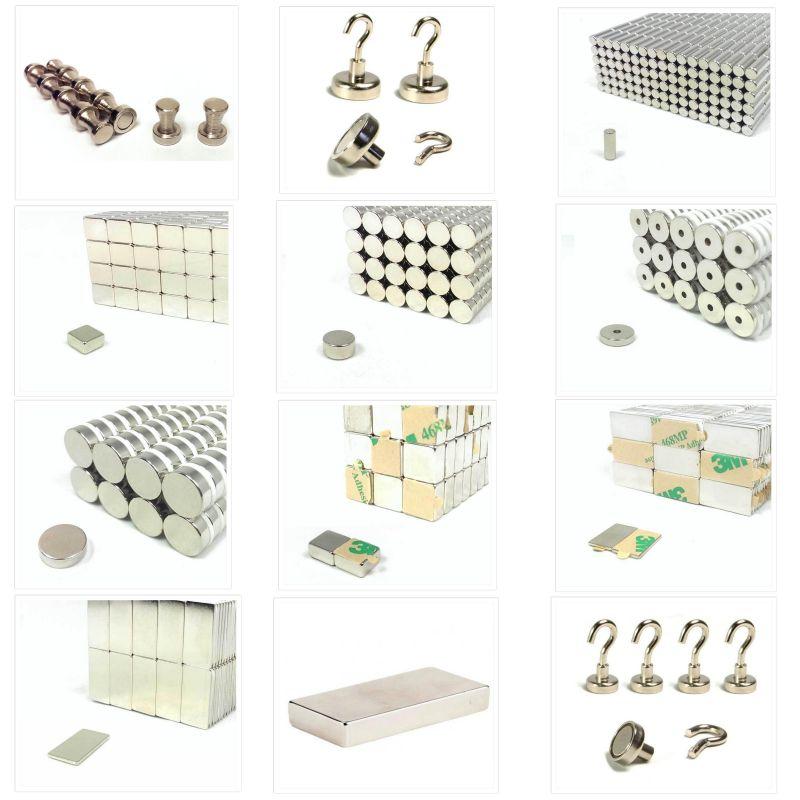 quader scheiben stab und ring n52 neodym magnete. Black Bedroom Furniture Sets. Home Design Ideas