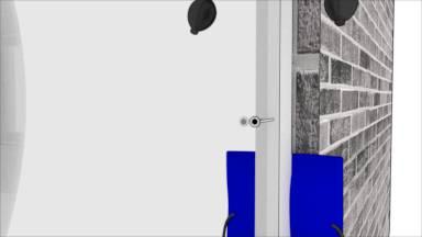 anleitung fenster selbst einbauen mit montagekissen. Black Bedroom Furniture Sets. Home Design Ideas